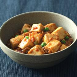 大豆ミートの麻婆豆腐